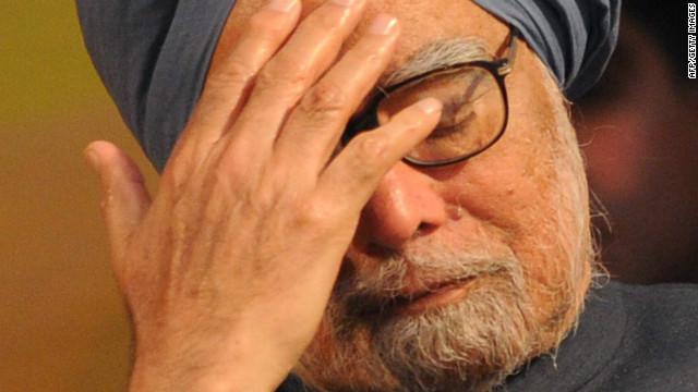Singh signals sharp India slowdown