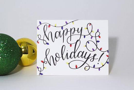 Creating Customiezd Holiday Cards